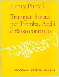 per Tromba Purcell H Trumpet-Sonata Archi e Basso Continuo