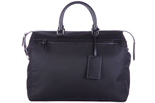 Prada briefcase attaché case laptop pc bag soft black