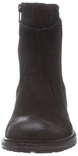 black Schwarz Noir Boot Pms black black Ankle Seiko Bottes Femme qB0wa