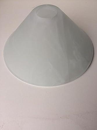 Paralume vetro 10cm calice verde arancione lampada ricambio applique  lampadario