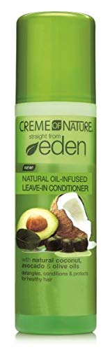 Creme of Nature Straight from Eden Plant Derived Detangling Leave-in Conditioner, 8.45 (Best Creme Of Nature Hair Relaxers)
