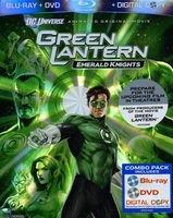 New Warner Studios Green Lantern Emerald Knights Product Type Blu-Ray Disc Children'S Video Domestic