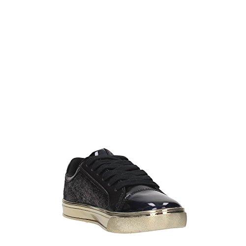 Versace Ee0vobsf1 Blu Jeans de Zapatillas Nero Deporte Mujer qqwpvrA