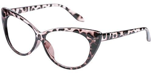 SOOLALA 3-Pair Value Pack Fashion Designer Cat Eye Reading Glasses for Womens, 1.5D by SOOLALA (Image #7)