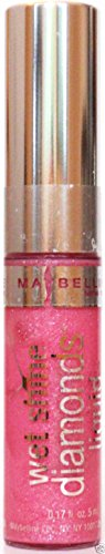 Maybelline Wet Shine Diamonds Liquid Lipcolor, Pink Carats, 0.19 Oz