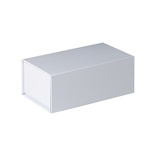 Jillson Roberts 36-Count Small Magnetic Closure Gift Boxes Available in 5 Colors, White Gloss by Jillson Roberts