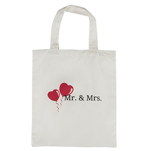 Mr. and Mrs. Aprons Est. 2018, His Hers Wedding Gift Set For Couples - Bridal Shower Engagement Gift Set - With Pocket and Gift Bag By Let the Fun Begin