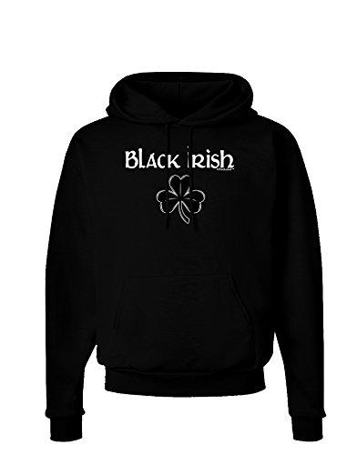 TOOLOUD Black Irish Dark Hoodie Sweatshirt - Black - Large