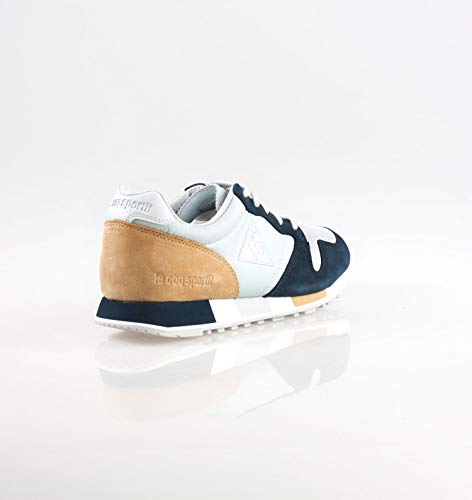 Retro Sneakers 1820708 Sportif Celeste Caffe Celeste Coq Blu Omega Le 45 HwqBtI