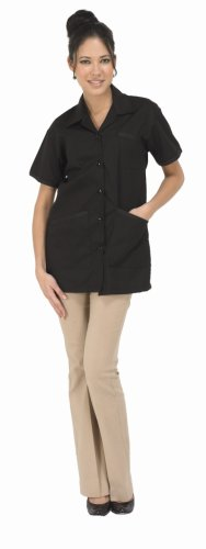 Betty Dain Nail Pro Jacket, Large, Black 891 L BLK
