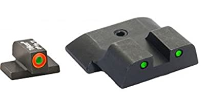 Ultimate Arms Gear SW-446 Spartan Tactical Smith & Wesson All M&P models (except Shield), Operator 3 Dot Night Sight Set ProGlo Front + Rear w s by Ultimate Arms Gear
