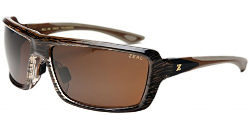 Zeal All In Sunglasses - brown gloss/copper lens, one - One Sunglasses All In