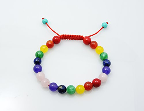 Tibetan Mala Chakra Healing Wrist Mala Bracelet Yoga ()
