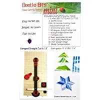 Creator's Beetle Bits Mini Glass Cutting System Portable Work Station For Geometric Shapes COMPLETE WITH 2 Waffle Grids AND Push Button Flying Beetle Glass Cutter INCLUDED - DIY - Made In The USA by Creator's (Image #6)