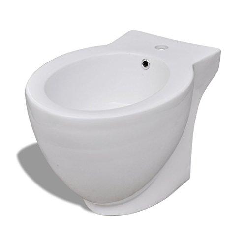 Standbidet Stand-Bidet Bodenstehend Bidet Keramik weiß