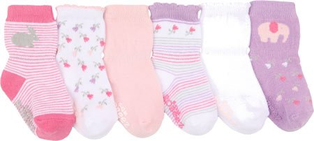 Robeez Infant/Toddler Girls' Baby's Favorite,Pastel Pink,0-6 month