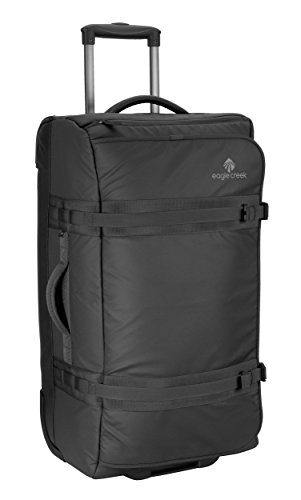 American Airlines Eagle American (Eagle Creek No Matter What Flatbed Duffel 28 Inch, Black)
