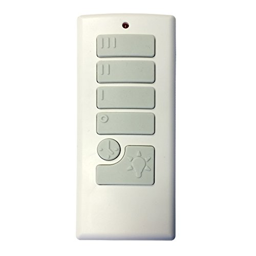 (Harbor Breeze Off-White Handheld Universal Ceiling Fan Remote Control)