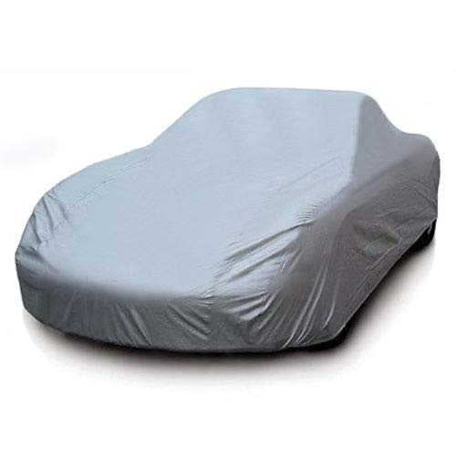7-Year Warranty All-Weather Car Cover 100% Waterpoof/100% Snowproof/100% UV & Heat Protection/100% Dustproof/100% Scratchproof Indoor Outdoor – Cars Length Up to 175″ – Go4CarZ Store
