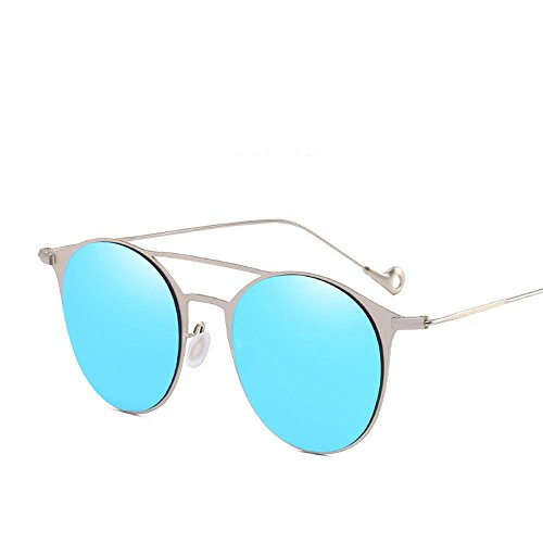 Aoligei Lunettes de mode lumière colorée film soleil Chao hommes et plat  lunettes de soleil femmes. ☆Suitable pour ... ecc3fbde588e