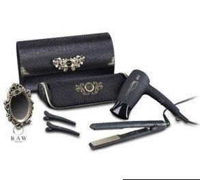 New Ghd Hair Straightener Gold Classic Dryer Clips