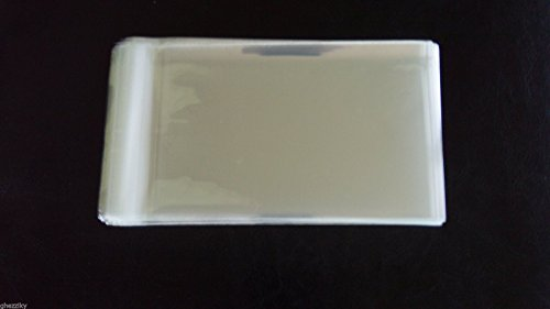 500 2''x 3'' Crystal Clear Resealable Poly/Cello / Cellophane Bags Sleeves