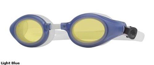 Liberty Sport Suns SHARK Protective Eyewear Light Blue Frame,Clear Lens, Unisex SHARK LTBL40.6 by Rec Specs
