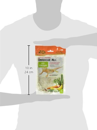 Zilla Reptile Food Munchies Omnivore Mix with Calcium, 4-Ounce by Zilla (Image #5)