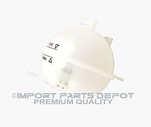 Coolant Reservoir Overflow Expansion Tank for Volkswagen Cabrio Corrado Golf Jetta Passat Premium Quality 1H0121407A by KOOLMAN