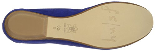 Winsome Ny Women's Blue French Fs Velour Sole Pump 8FqU8Tn7H