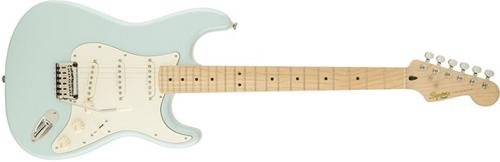 Squier by Fender 300500523 Deluxe Stratocaster Electric Guitar - Pearl White Metallic - Maple Fingerboard