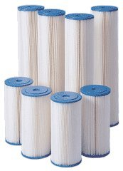 Harmsco HC-90-5 5 Micron Hurricane 90 HP Pleated Polyester Filter Cartridge by Harmsco