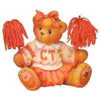 Cherished Teddie......... Debbie... (Figurine Cheerleader)