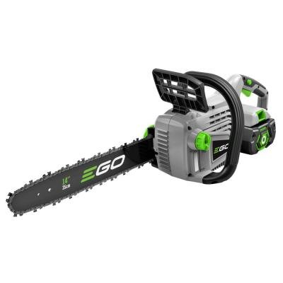 Cordless Electric Chainsaw Lithium Powered Beauty- This Lightweight Potable Model From Ego Will Make Quick Work Of Your Cutting And Chopping Branches and Firewood- Brushless Long Life Motor- Best Buy