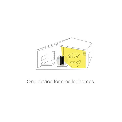 Canary - All-in-One Home Security Device, Helps You Keep An Eye On Your Home Even While Youre Away, White (Renewed), Works with Alexa