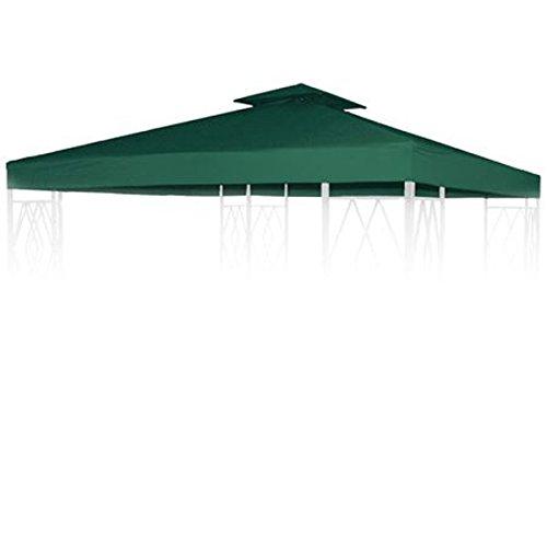 BURI Pavillion Ersatzdach Natur f/ür 3x3 Pavillon Pavillondach Partyzelt Dachplane