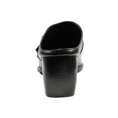Western Premium Damen Schuhe 31486 Schwarz 101 Clog Stahl Schwarz Qualität Kevin nxRF00