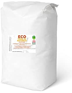 ECO Tierra de diatomeas Micronizada 20kg - Producto 100% Natural y ecológico - Grado alimenticio