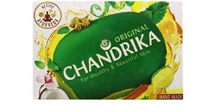 Price comparison product image Chandrika Bath and Body Ayurvedic Bar Soap (Pack of 10) (75gm / 2.64 oz)