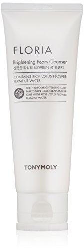 TONYMOLY Floria Brightening Foam Cleanser,5.0 Fl Oz