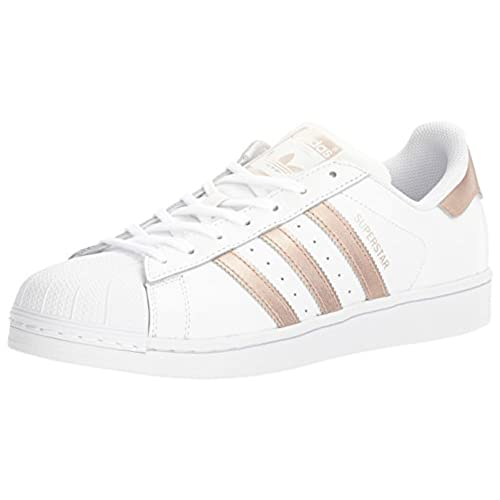 adidas Originals Women's Shoes Superstar Fashion Sneakers, White/Supplier  Colour/White, (8 M US)