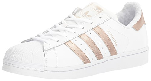 adidas Originals Women's Shoes | Superstar Fashion Sneakers, White/Supplier Colour/White, (5.5 M US) by adidas