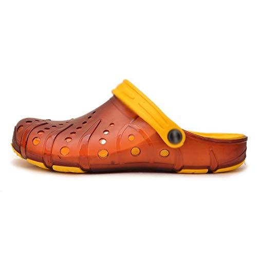 baotou Fodera uomo sandali 4 da estivi da WFL uomo traspiranti sandali antiscivolo da spiaggia pantofole 5BdwU