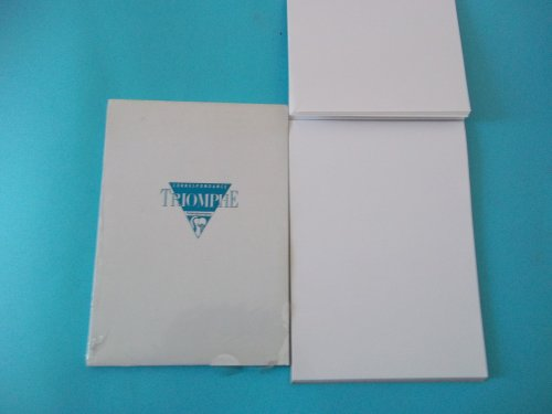 com clairefontaine triomphe lined white writing paper  com clairefontaine triomphe lined white writing paper stationery office products