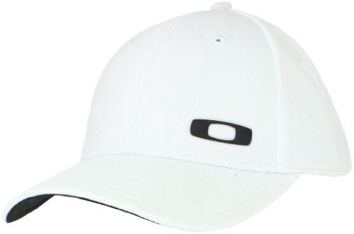 Oakley Men's Silicon O-Cap, White, Small/Medium