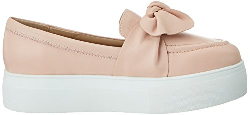 Buffalo London 216-3442 Nappa Leather, Mocasines para Mujer Multicolor (Pink 01)