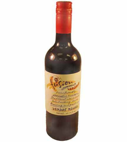 Verjus Rouge Red Vinegar by Fusion