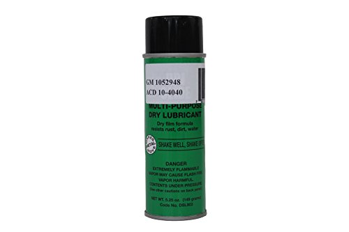 Genuine GM Fluid 1052948 Dri-Slide Lubricant - 5.25 oz. Aerosol