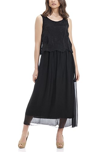 laura-moretti-long-silk-sleeveless-dress-with-embroidery