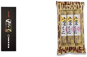 [2点セット] 岐阜銘菓 音羽屋 飛騨のかたりべ[6個入] ・スティックようかん[小倉](50g×3本)